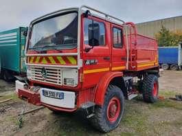 fire truck Renault M180 - 4x4