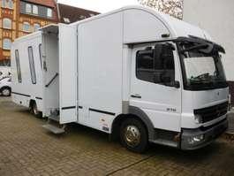 integraded camper Mercedes Benz Atego 816 , Mobile Bank Geschäftsstelle 2010