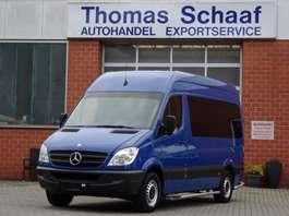 minivan – bus osobowy Mercedes Benz Sprinter 213 Cdi 9 Sitze Schiebetür Klima Euro 5 2013