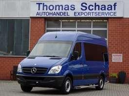 minivan - passenger coach car Mercedes Benz Sprinter 213 Cdi 9 Sitze Schiebetür Klima Euro 5 2013