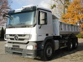 LKW Kipper > 7.5 t Mercedes Benz ACTROS 2644 6x4 EURO5 DSK mit Bordmatik Meiller