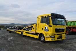 car transporter truck MAN 8.220 / Doppelstock / 4 x PKW / Seilwinde 2014