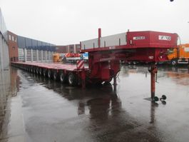 lowloader semi trailer Nicolas GOOSENECK + 15 ASLINER - TOTAL 335TON 2005