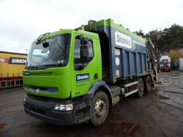 мусоровоз Renault Premium 320 6x2 vuilniswagen