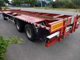 flatbed full trailer Krone , ATM, Pacton - 3 As Aanhangwagen T.b.v. Wissellaadbakken - Luchtvering ...