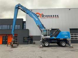 material handler Fuchs MHL 360e Cranked + Generator 2013