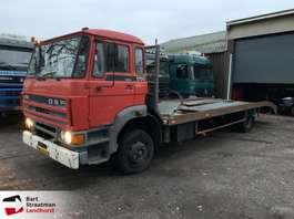 car transporter truck DAF 1700 Turbo Cartransporter Machinetransporter 1987