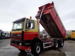 camion à benne basculante Ginaf ATI 360 + 6X6 + PTO + KIPPER 1995