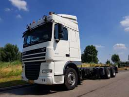 chassis cab truck DAF XF 105.460 6x2 2008