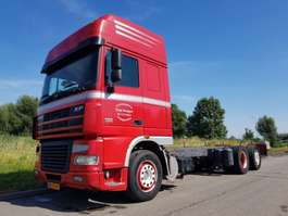 chassis cab truck DAF XF 95.430 6x2 Manual 2006