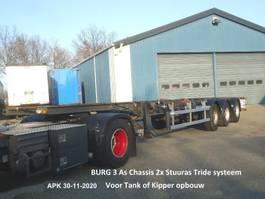 chassis semi trailer Burg BPO 18-27-CCNXX 2003