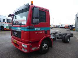 chassis cab truck MAN 7.150,bladveringPTO,nebenantrieb. 2013