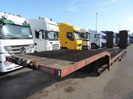 semi lowloader semi trailer Nooteboom OSD41 03 ,Rampen SAF, Trommelbremse, ABS 2003