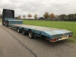 lowloader semi trailer Broshuis Uitschuifbaar 80cm vloerhoogte 1998