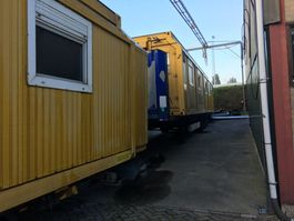 Büro-Wohncontainer bedrijfs unit Selfsupporting HOME 3X Rarely available - quick sale wanted