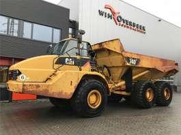 articulated dump truck Caterpillar 740 ADT 6x6 Tailgate 2003
