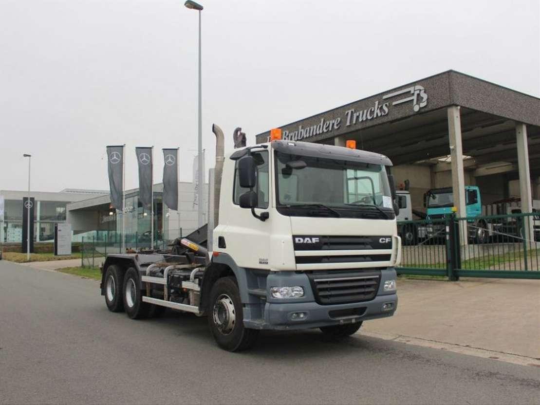 Daf Cf 85 410 6x4 Euro 5 Kort Containerwagen Container