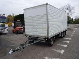 closed box car trailer fripaan FRIPAAN ZSWT 35 1992