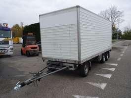 closed box trailer fripaan FRIPAAN ZSWT 35 1992