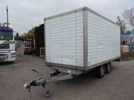 closed box car trailer Saris PL 30 K GESLOTEN OPBOUW 1994