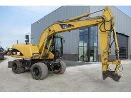 wheeled excavator Caterpillar M313c 2006