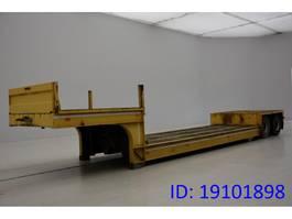 Tieflader Auflieger Gheysen en Verpoort Low bed trailer 1983