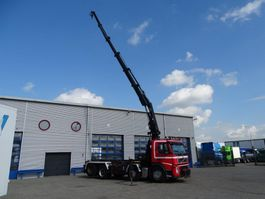 container truck Volvo FM13-440 / EURO-4 / FULL STEEL SUSPENSION / HIAB 224 EP-5 HIPRO / REMOTE... 2007