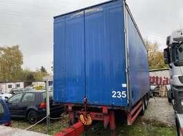 flatbed full trailer Orten AG18 2004