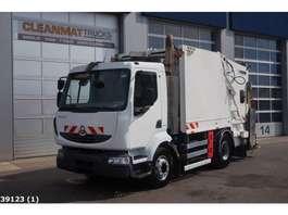 garbage truck Renault Midlum 220 Faun 8m3 2008