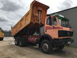 tipper truck Mercedes Benz 2 x 2635 AK 6 x 6 1991
