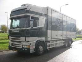 camion refrigerato Scania R480, 6x2, koelwagen, laadklep, euro 5 2013