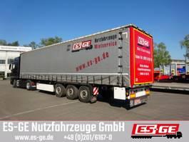 flatbed semi trailer Krone 3-Achs-Sattelanhänger - Schiebeplane - Coilm. 2014
