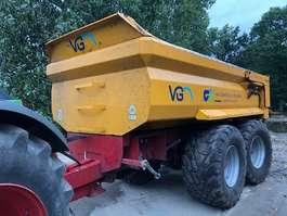 tipper trailer agricultural VGM ZK18 2007