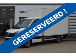 closed box truck Volkswagen Crafter 2.0 TDI 136PK Bakwagen Laadklep, Cruise, Geveerde stoel 2015