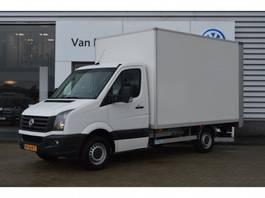 closed box truck Volkswagen Crafter 2.0 TDI 109PK Bakwagen Laadklep, Airco, Cruise 2015