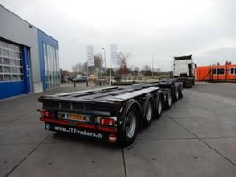 Container-Fahrgestell Auflieger JTF Combi-lZV koop/huur / Te keuren voor Duitsland 2016
