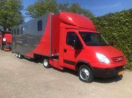semi-integraded camper Iveco 35C1ST EURO 4 Iveco living paardenwagen 2008