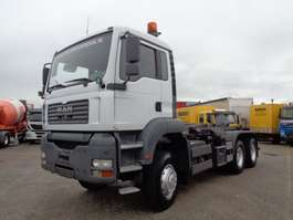 container truck MAN TGA 26.390 + Manual + Hook system 6x6 2004