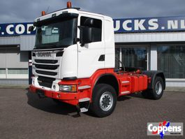 cab over engine Scania G440 4X4 Euro 5 2014