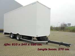 closed box trailer BussBygg 2 As Stalling - Reclame Aanhangwagen - Wipkar Gesloten 2001