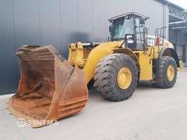 wheel loader Caterpillar 980K 2012