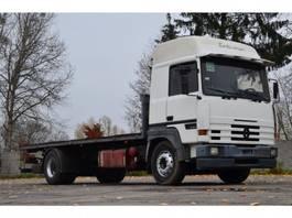 podwozie ciężarówki z kabiną Renault MAJOR 385 1994 flatbed 1994
