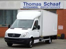 samochód dostawczy ze skrzynią zamkniętą Mercedes Benz Sprinter 515 Cdi 110 kw Koffer Maxi 450 Lang Lbw 3.5t 2006