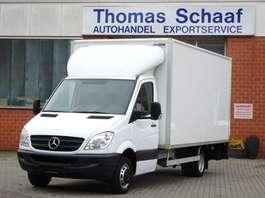 veículo comercial ligeiro de caixa fechada Mercedes Benz Sprinter 515 Cdi 110 kw Koffer Maxi 450 Lang Lbw 3.5t 2006