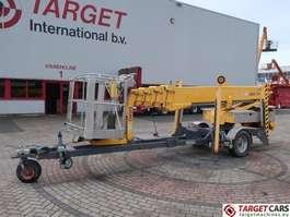 Hubarbeitsbühne PKW-Anhänger Omme 2100EBZ Telescopic Towable Boom Work Lift 2110cm 2005