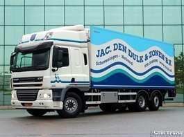 camion refrigerato DAF FAN CF85.360 6X2  EEV  SPACE CAB  MANUAL GEARBOX TOP CONDITION 2013