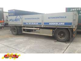 drop side full trailer GS Meppel aanhanger open bak