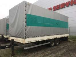 drop side full trailer Möslein ATP 10 , Tandem, Plane + Türen Luft, TOP 23/75  R 17,5 BORDwände 2001