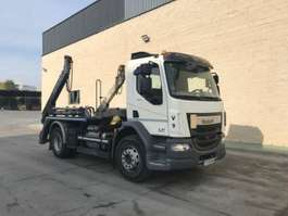 container truck DAF LF 320 4X2 - MEILLER AK 12MT CONTAINERSYSTEM EURO 6 2017