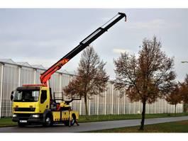 tow-recovery truck DAF AE55CF Falkom / Palfinger PK 14500TB 2001
